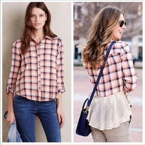 Anthropologie Cedar Grove Buttondown